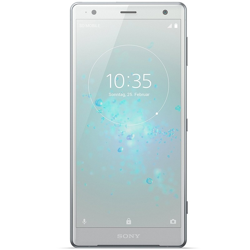 sony xperia xz2 dual sim smartphone liquid silver. Black Bedroom Furniture Sets. Home Design Ideas
