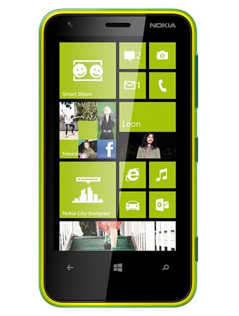 LUMIA 620 lime-grün Handy