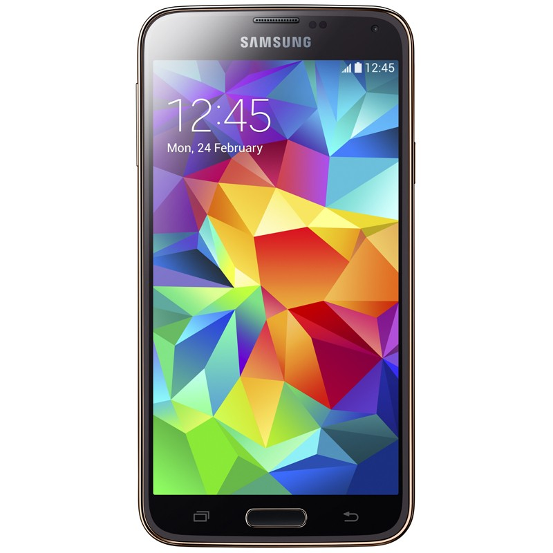 Samsung Galaxy S5+ gold Telekom Handy