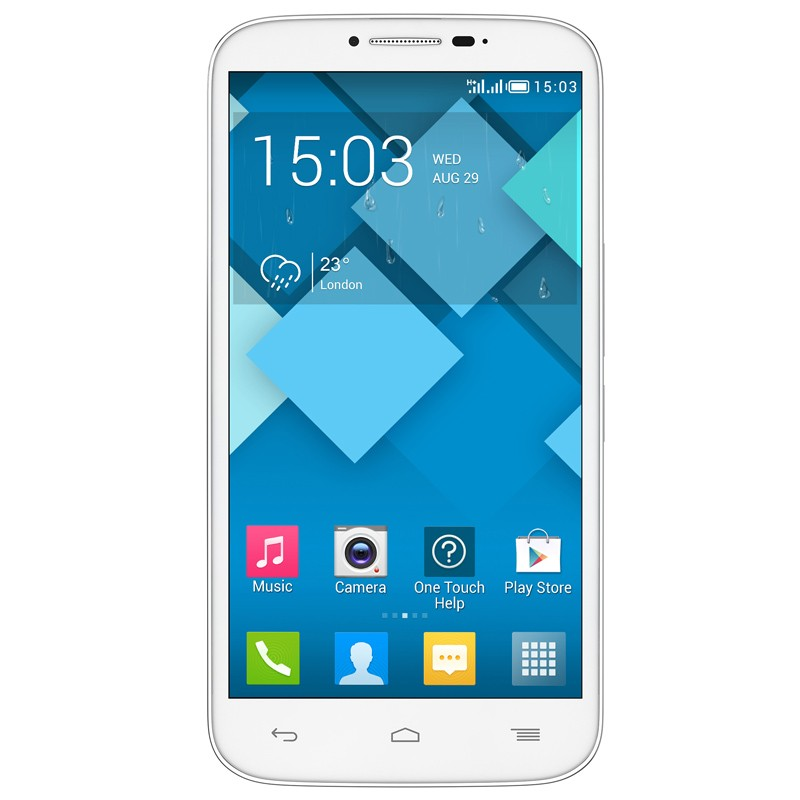 Alcatel One Touch Pop C9 Dual-SIM Handy weiß