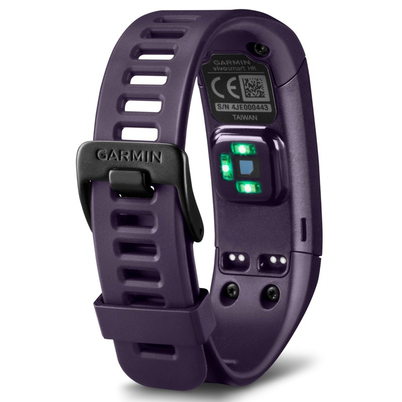 garmin vivosmart hr fitnessarmband lila. Black Bedroom Furniture Sets. Home Design Ideas