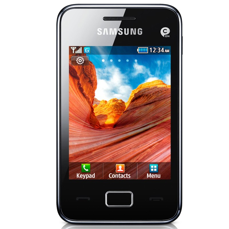 Samsung S5220 Star 3 black Original Handy