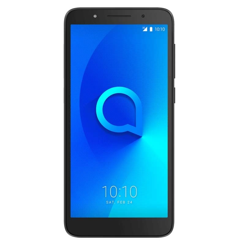 Alcatel 1C Dual-SIM Smartphone metallic black