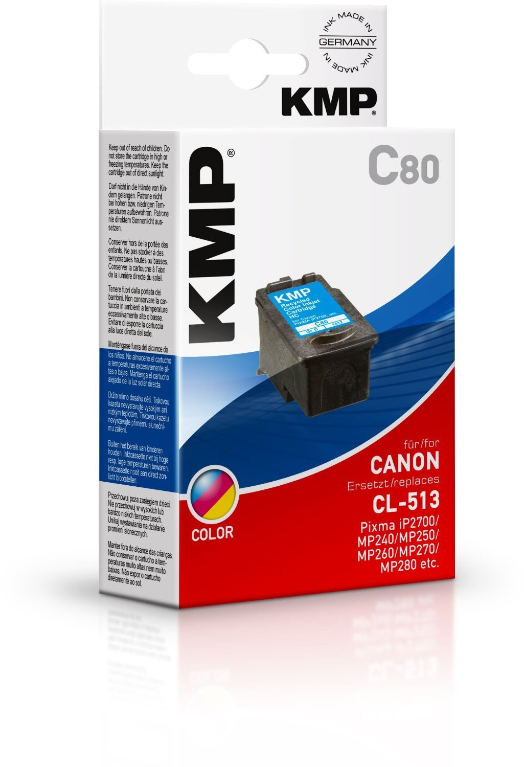 KMP C80 (CL-513) Tinte color