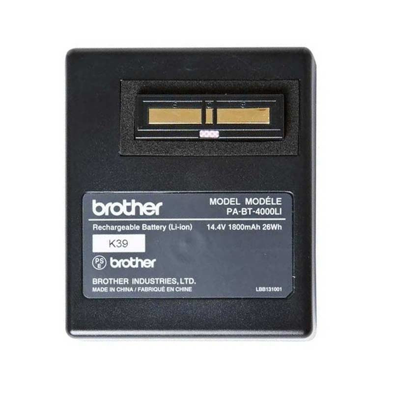 Brother PABT4000LI Wiederaufladbare Batterie