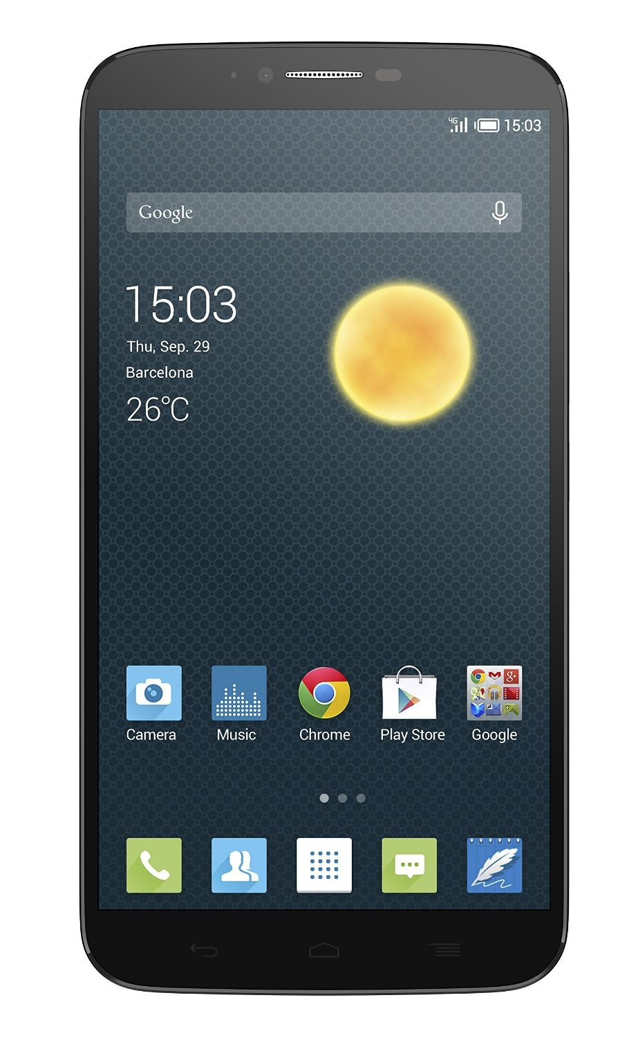 Alcatel One Touch HERO II 8030Y dark grey