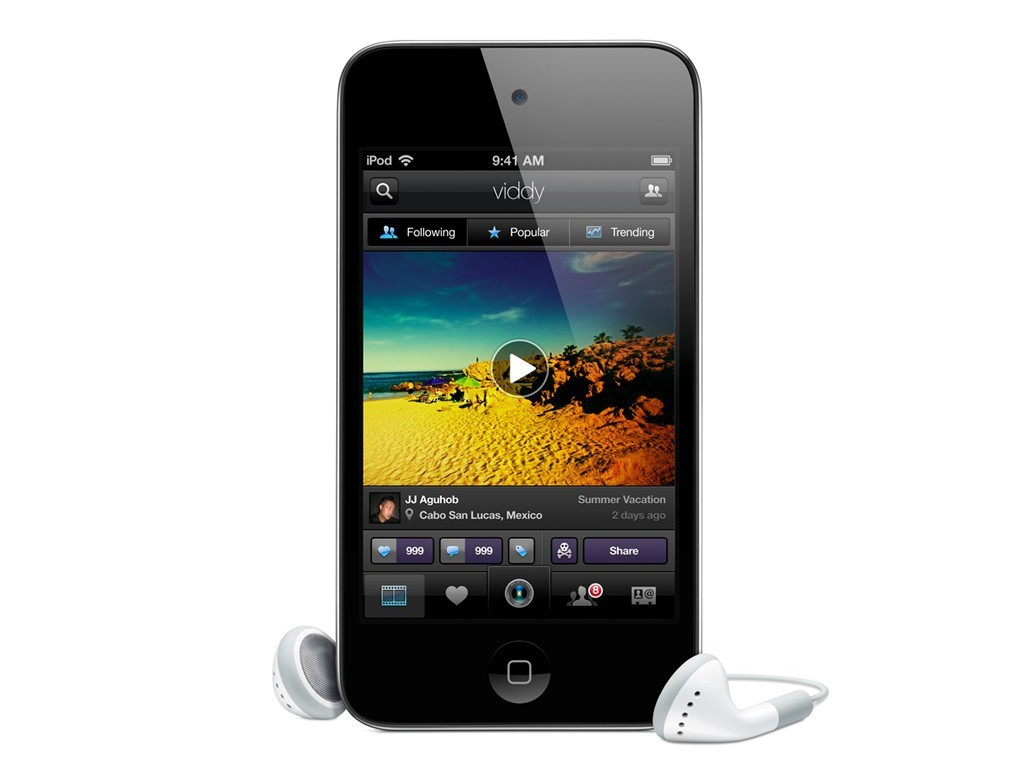IPOD Touch 16GB 4.Gen schwarz MP3-Player