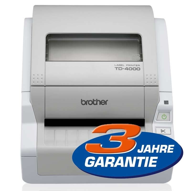 Brother TD4000 P-Touch Etikettendrucker