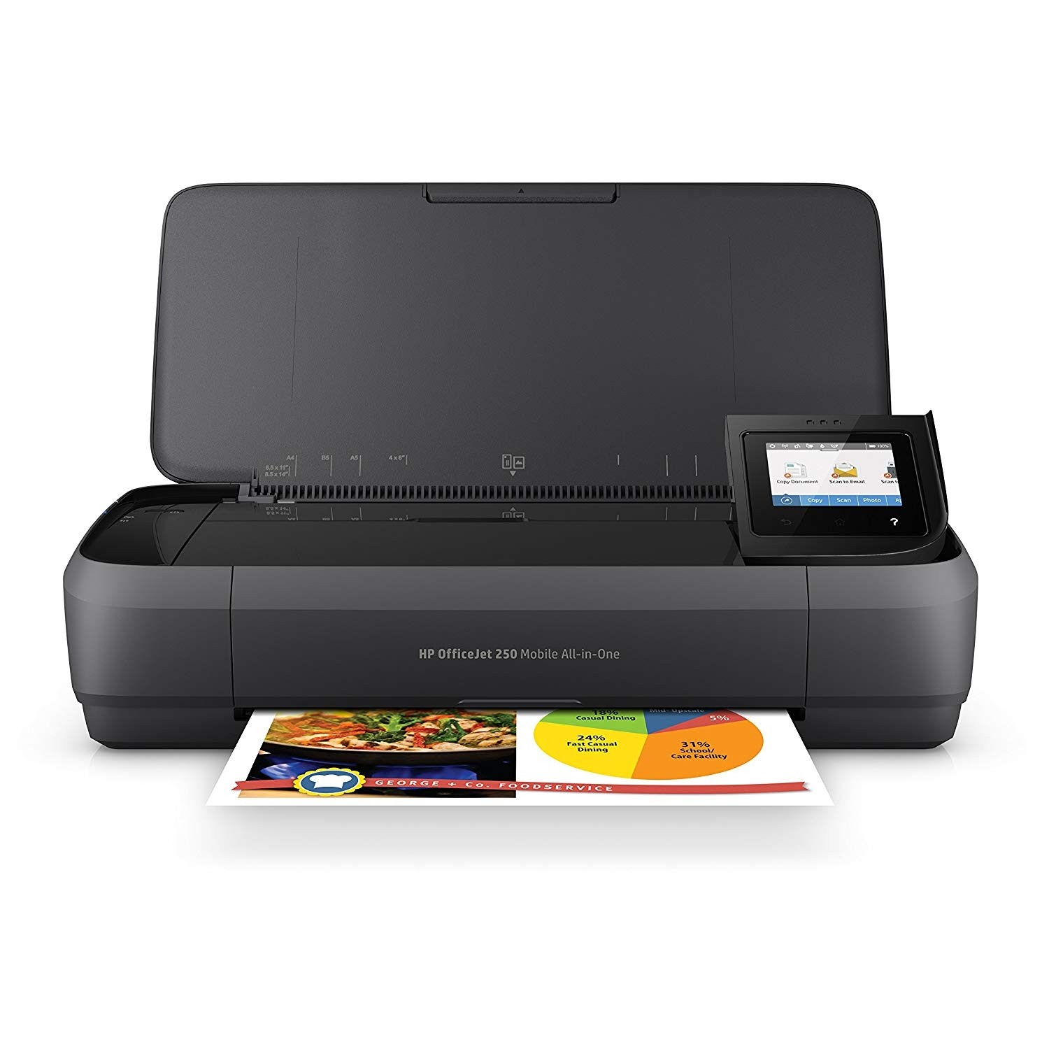 HP Officejet 250 mobiler All-in-One Multifunktionsdrucker