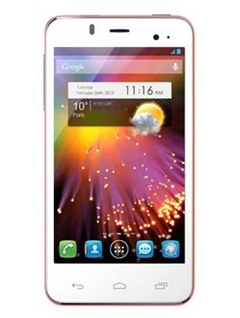 Alcatel One Touch 6010D Star white/pink Dual-SIM Handy