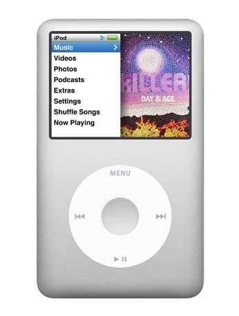 IPOD Classic 160GB silber MP3-Player