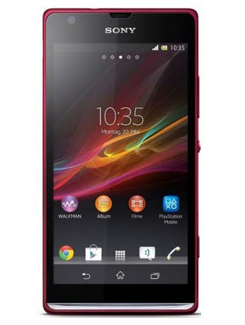 Xperia SP rot Handy