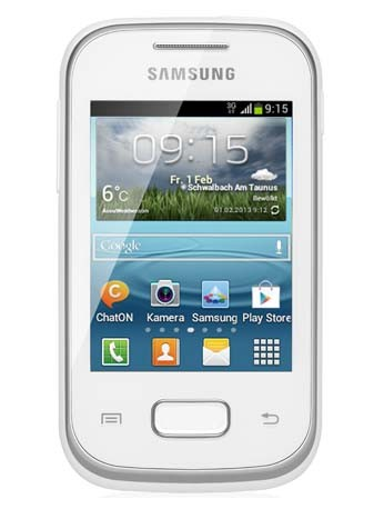 Samsung S5301 Galaxy Pocket Plus weiss