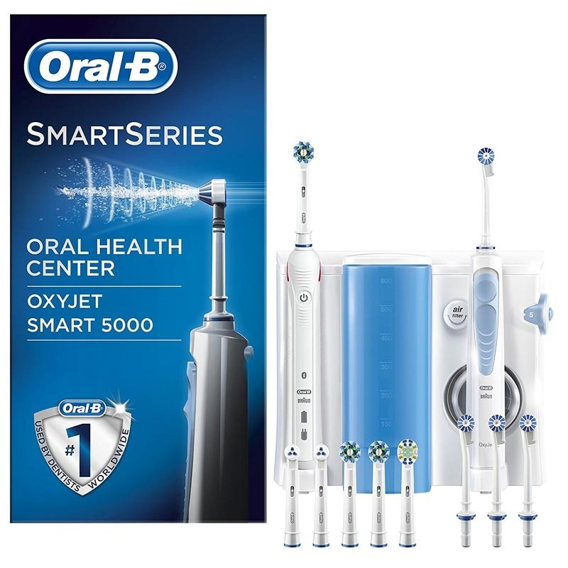 Braun Oral-B Mundpflege Center Smart 5000 plus OxyJet Munddusche