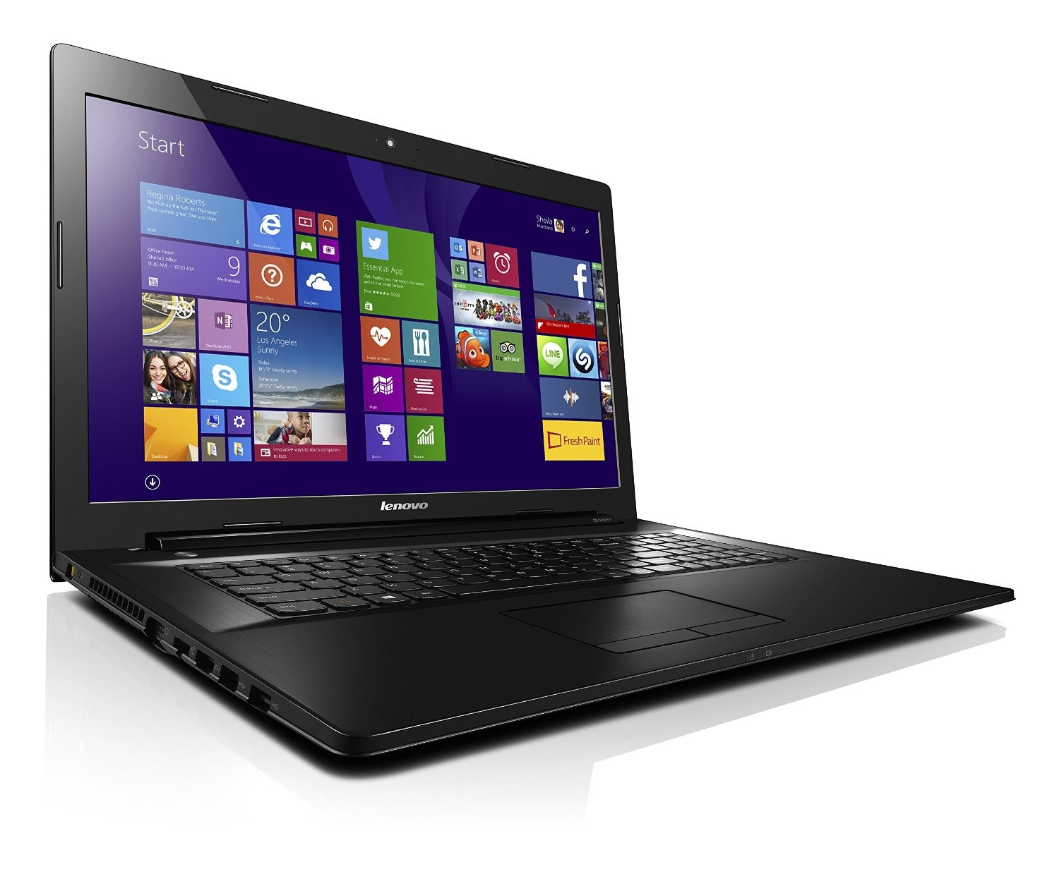 lenovo ideapad g70 80 43 9cm 17 3 zoll notebook. Black Bedroom Furniture Sets. Home Design Ideas