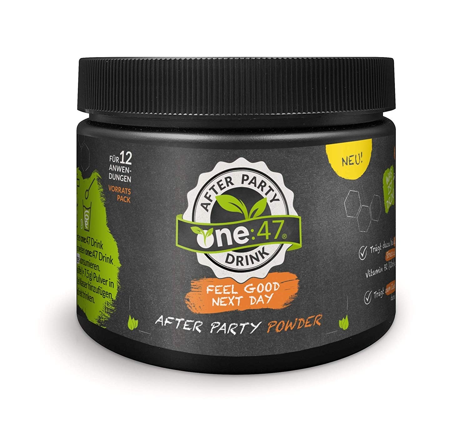 one:47 After Party Drink, Pulver Dose 180g