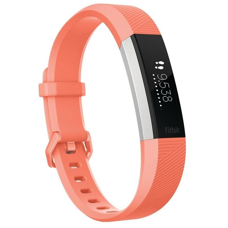 Fitbit Fitness Armband Alta HR Gr. S coral