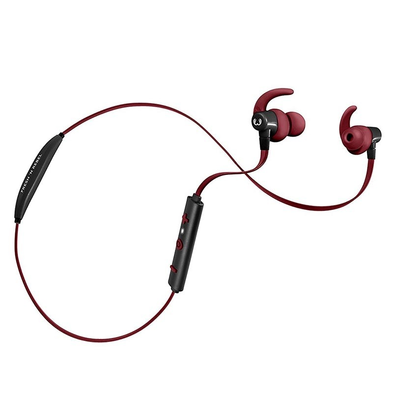 Fresh and Rebel Lace Wireless Sports Earbuds Ruby Bluetooth NEU