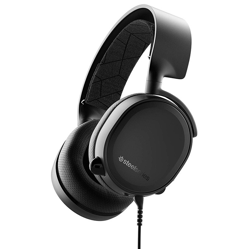 SteelSeries Arctis 3 (2019 Edition) All-Platform Gaming Headset schwarz