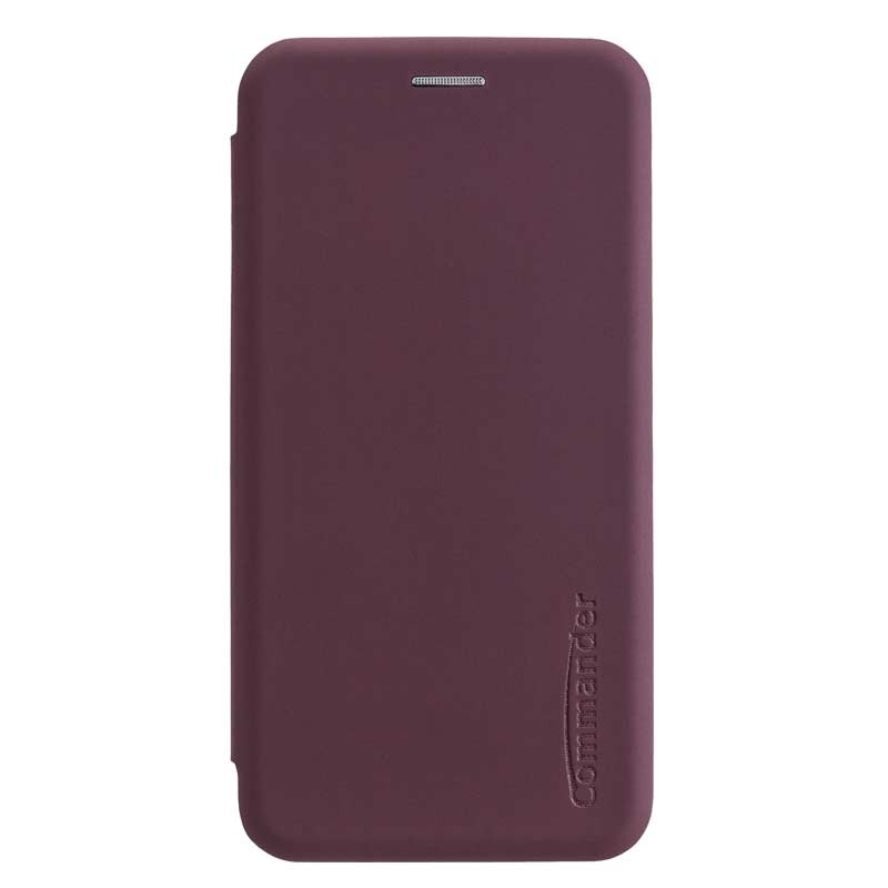Peter Jäckel COMMANDER Book Case CURVE für Apple iPhone 11 Soft Touch Bordeaux