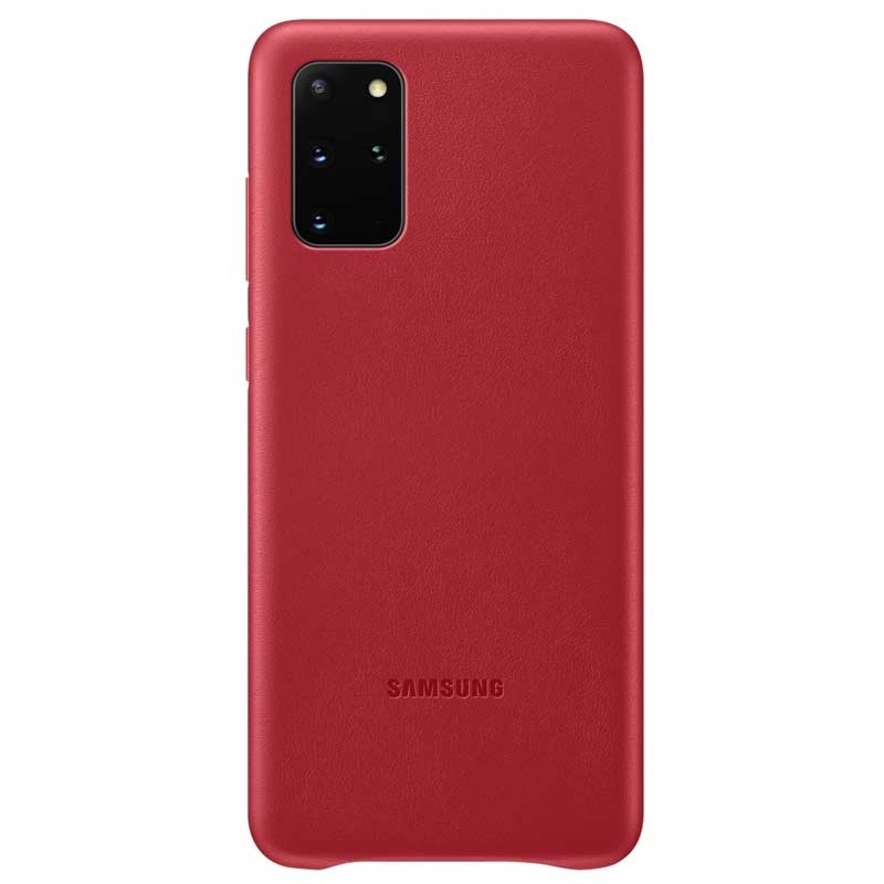Samsung Leather Cover Galaxy S20+ (SM-G985) rot