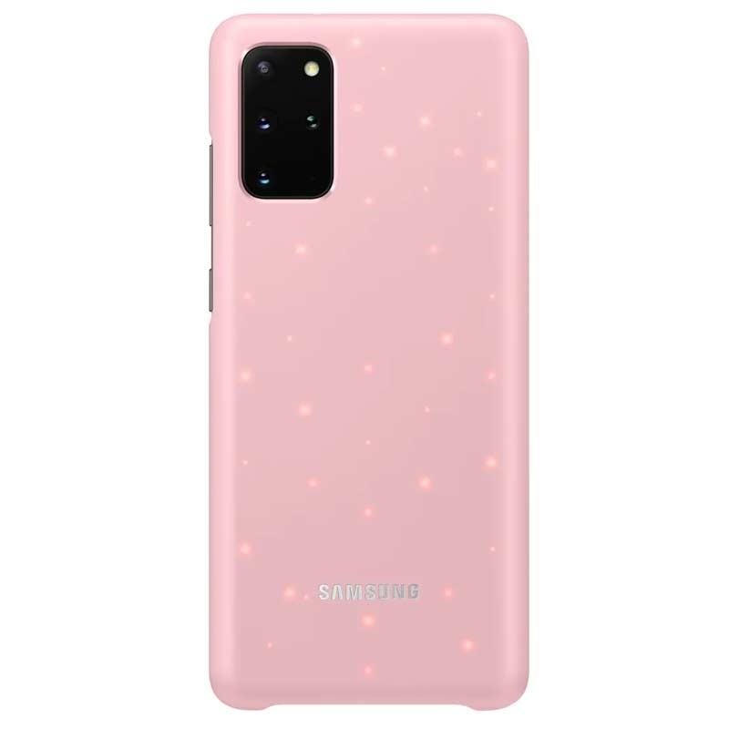 Samsung LED Cover Galaxy S20 (SM-G980) pink