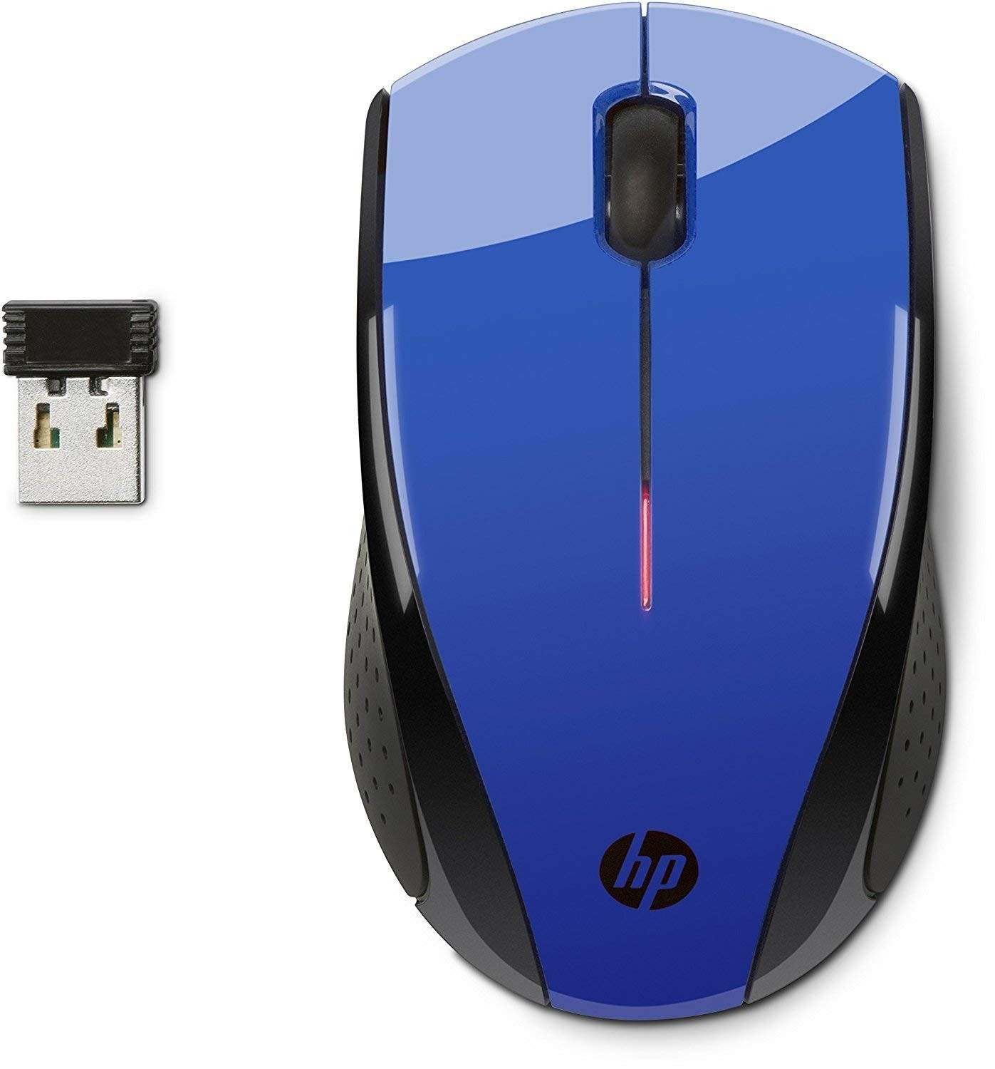 Hewlett-Packard X3000 Wireless Mouse blau/schwarz