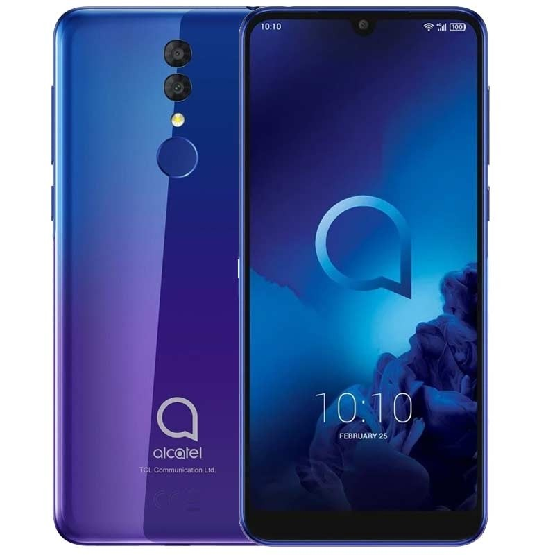 Alcatel 3 5053K 64GB 2019 Dual Sim blue purple