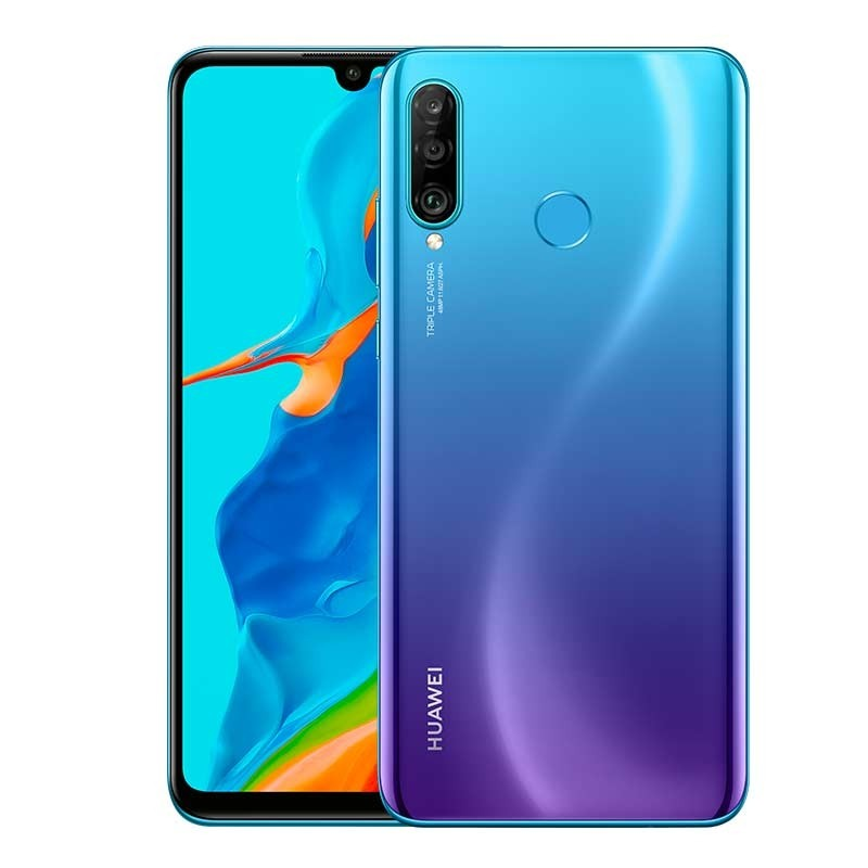 Huawei P30 Lite New Edition Smartphone peacock blue