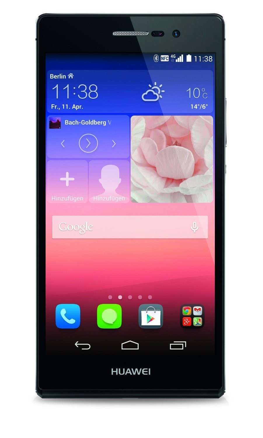 Huawei Ascend P7 Smartphone (5 Zoll (12,7 cm) Touch-Display, 16 GB Speicher, Android 4.4.2) schwarz