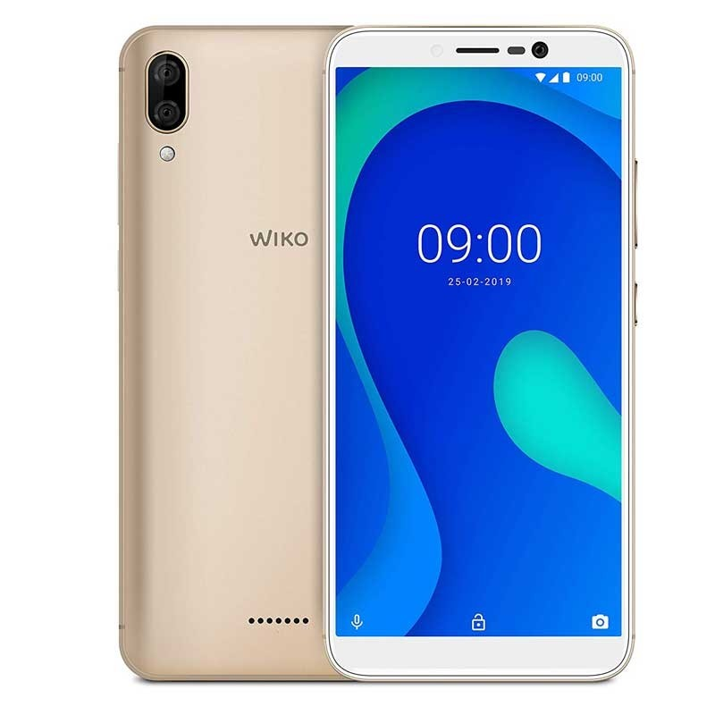 Wiko Y80 16GB Smartphone anthrazit gold