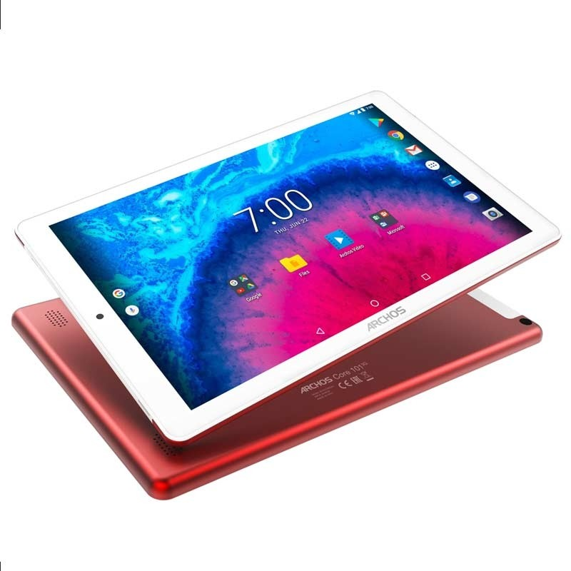 Archos Core 101 V2 (10.1 Zoll) Tablet-PC rot
