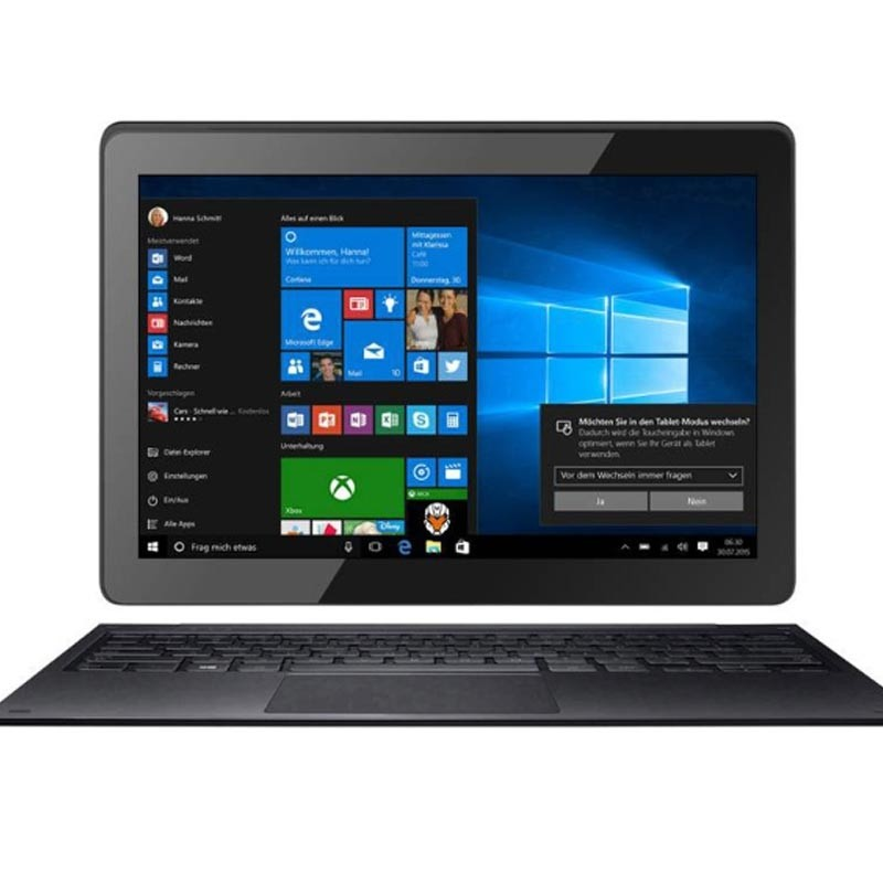 Odys Primo Win 10 2-in-1 25,7 cm (10,1 Zoll) schwarz Tablet-PC