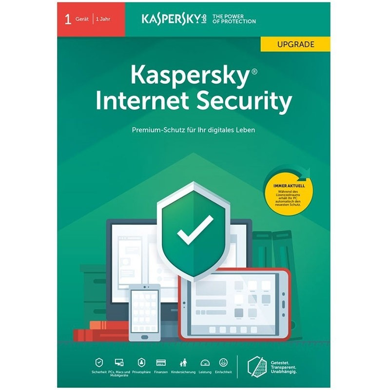 Kaspersky Internet Security 2019 Upgrade
