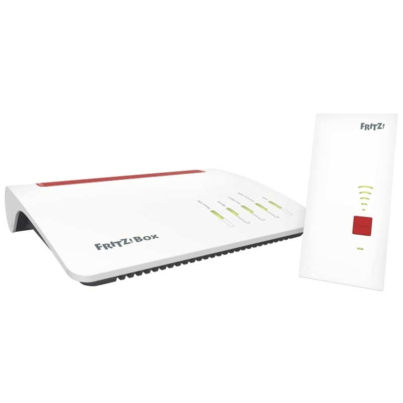 AVM FRITZ! Mesh Set Box 7590 + WLAN Repeater 2400