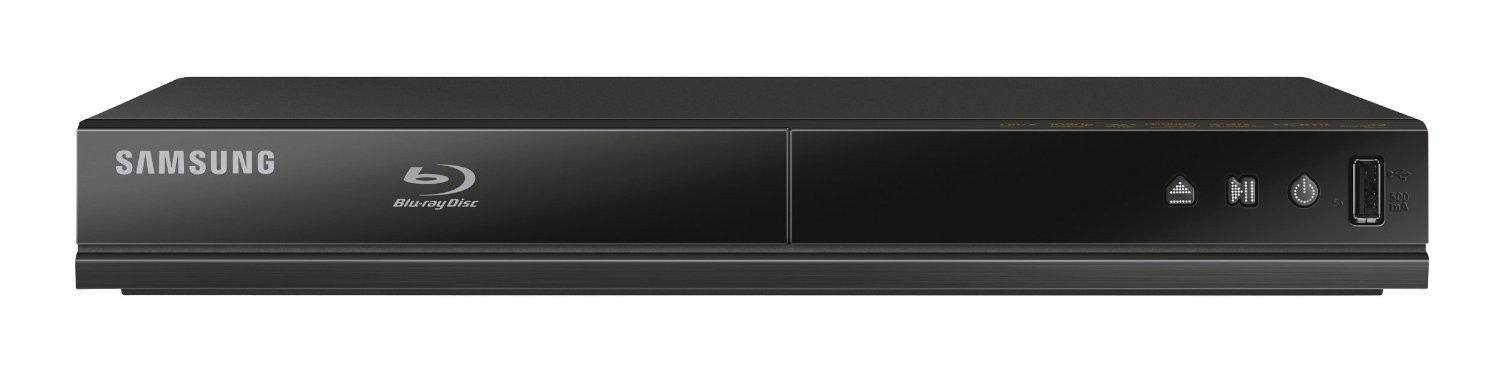 Samsung BD-J4500/4500R Blu-ray Player schwarz