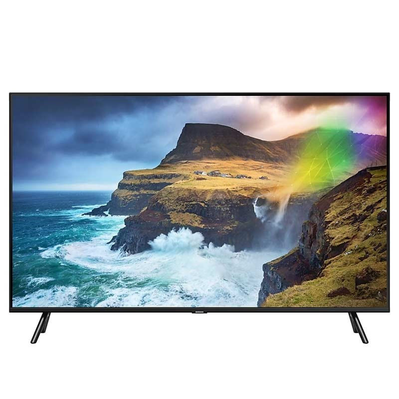 samsung gq82q70rgtxzg 207cm 82 zoll 4k qled tv. Black Bedroom Furniture Sets. Home Design Ideas