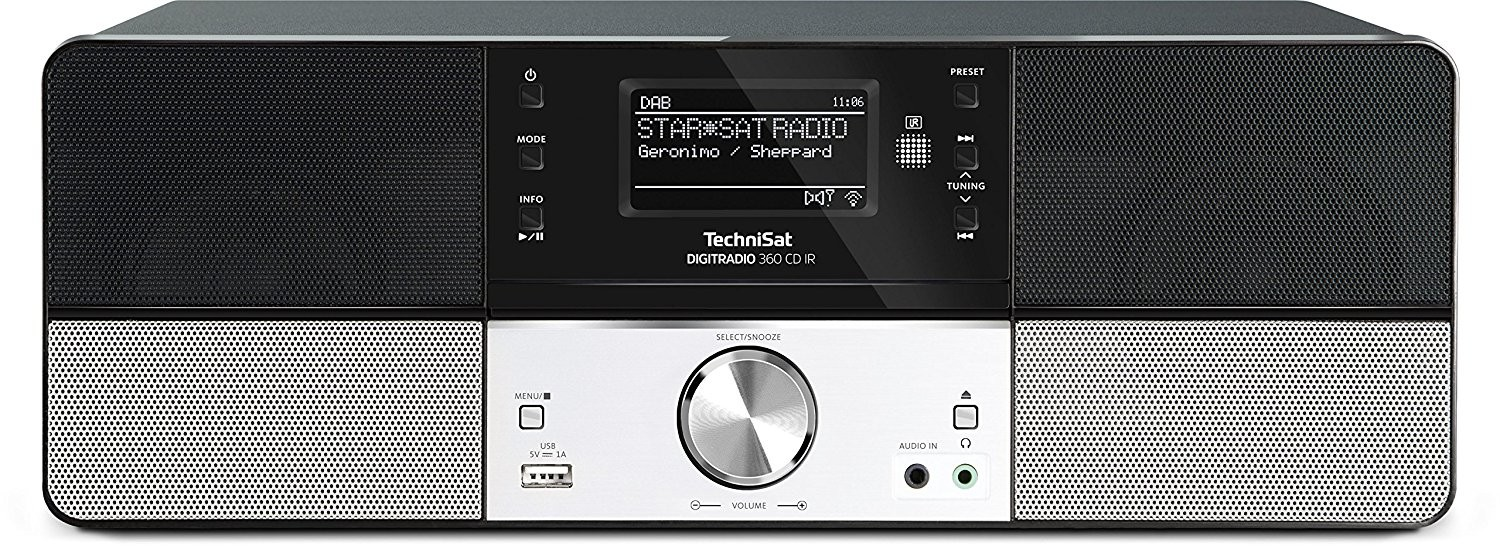 TechniSat DigitRadio 360 CD IR bk