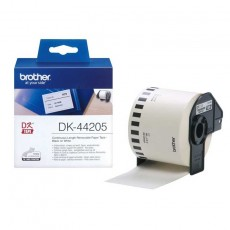 Brother DK44205 P-Touch Endlosetiketten Papier weiß