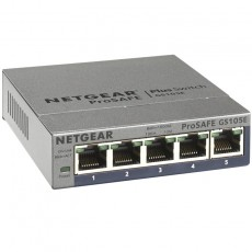 NETGEAR 5-Port Gigabit Plus Ethernet Switch