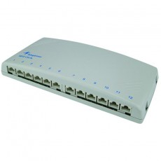 Telegartner Patchpanel Cat.6 12 Ports