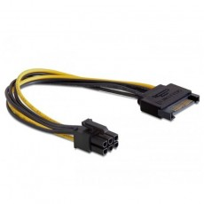 Delock Power SATA 15 Pin 1x6 PCI Express