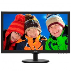 Philips 223V5LHSB 21,5 Zoll LED-Monitor schwarz