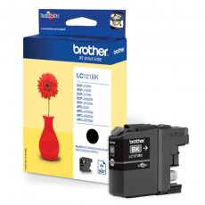 Brother LC-121BK Tinte schwarz