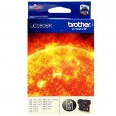 Brother LC980BK schwarz Tintenpatrone