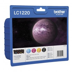 Brother LC1220 ValuePack CMYK Tintenpatrone