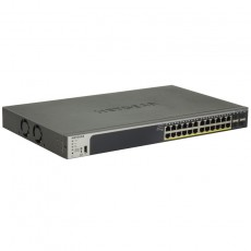 Netgear ProSafe GS728TP Gigabit Smart Managed Switch 28 Ports PoE+ 190W - Switch