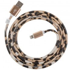 Peter Jäckel USB Data Cable für Apple Lightning mit Sync- und Ladefunktion