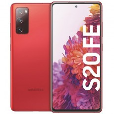Samsung Galaxy S20 FE 128GB 5G Smartphone cloud red