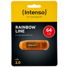 Intenso Rainbow Line 64GB USB Drive 2.0